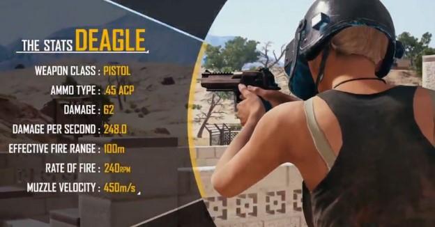 Pistol Deagle Andalan Terbaru Main PUBG Mobile