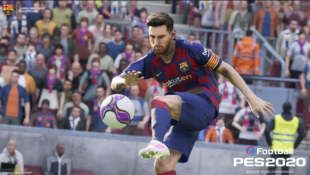 Gameplay Efootball PES 2020 Hadir Full Demo