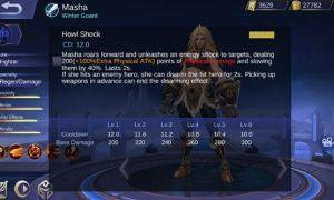 Hero Baru Masha Mobile Legends Terkuak 3 HP